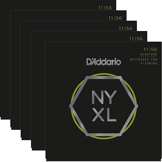 D/'Addario NYXL 1156 Nickel Wound Electric Guitar Strings 11-56