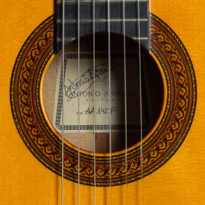 Antonio Aparicio AA142F 2009 Flamenco Guitar for sale