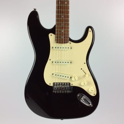 Used Kustom S-TYPE Electric Guitar Black for sale