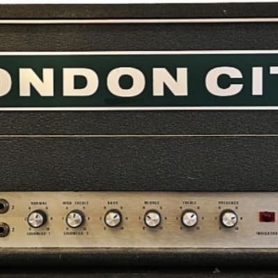 London City Dea 100 Mk IV 1971 Grey Tolex Marshall Superlead Copy for sale