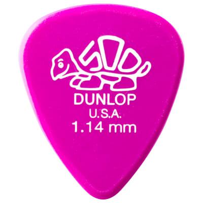 Dunlop Delrin 500 Guitar Picks (set of 12) - 1.14