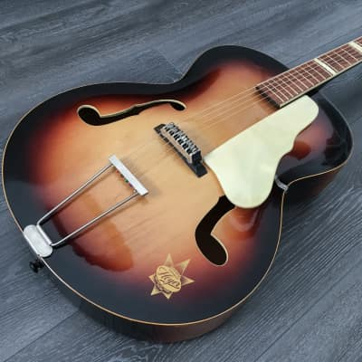 Hoyer Archtop late 50s Amber Burst for sale