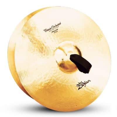 "Zildjian 18"" A Series Classic Orchestral Selection Medium Light Cymbal"