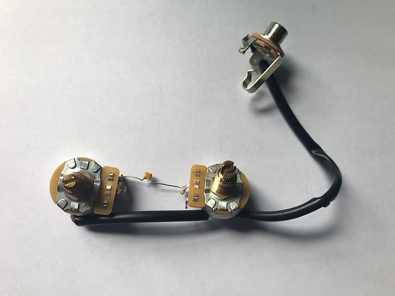 gibson les paul junior wiring harness mr j s guitars. Black Bedroom Furniture Sets. Home Design Ideas