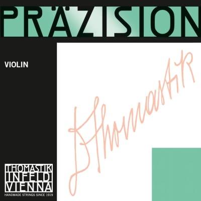 Thomastik-Infeld 522 Precision Chrome Wound Carbon Steel Core 1/2 Violin String - D (Medium)