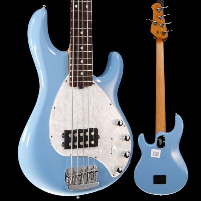 Ernie Ball Music Man StingRay 5 Special Bass w Case, Chopper Blue 212 8lbs 12.4oz for sale