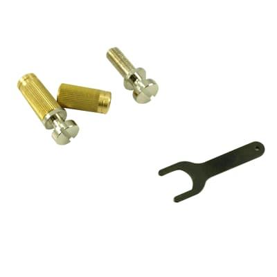 TonePros SS1-N US Thread Locking Tailpiece Stud Set For Gibson - Nickel