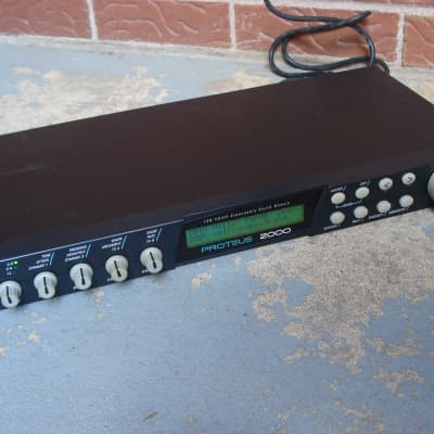 E-MU Systems Proteus 2000 without sound ROM installed