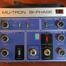 Mu-Tron Bi-Phase with pedal