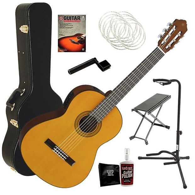 yamaha cgx102 acoustic electric classical guitar complete reverb. Black Bedroom Furniture Sets. Home Design Ideas