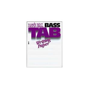 Ernie Ball P07022 Bass Tab Writing Paper Book
