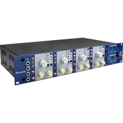 Focusrite ISA 428 MKII 4-channel Transformer-based Mic/Instrument Preamp
