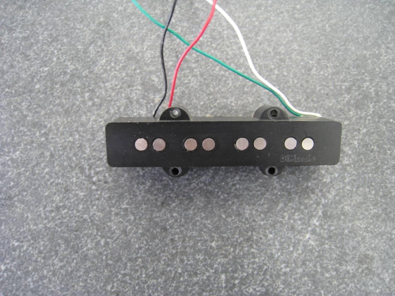 DiMarzio Ultra Jazz Bass Bridge Pickup (DP148)   Reverb