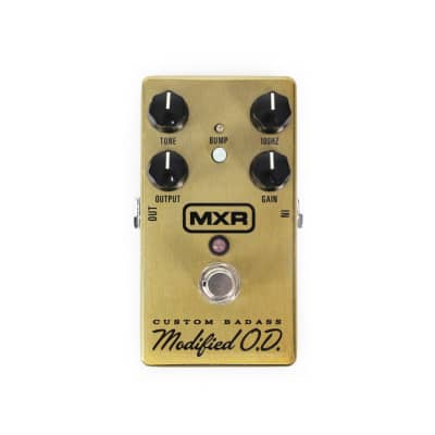MXR M77 Custom Badass Modified O.D. Pedal