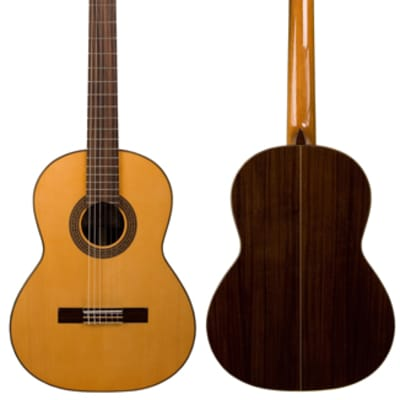 New World Estudio Model 640mm Guitar with Spruce Top and Padded Bag for sale