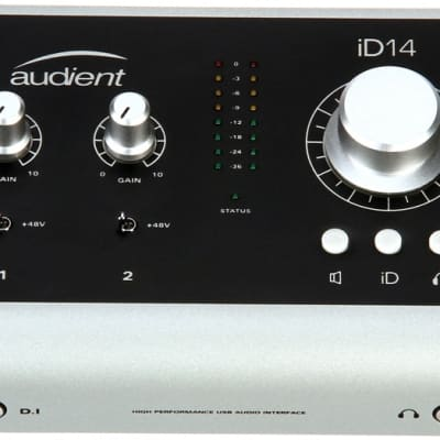 Audient iD14 2-Channel USB Audio Interface