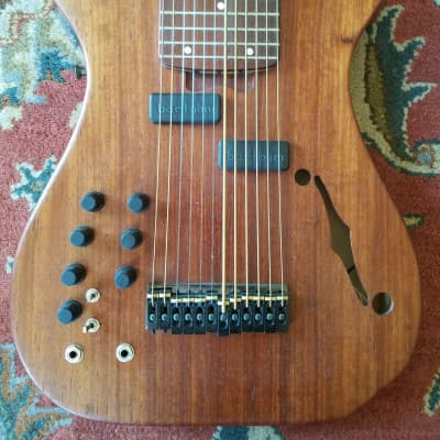 Warr Artisan Touch Guitar 2004 Padauk/Alder 12 string w midi for sale
