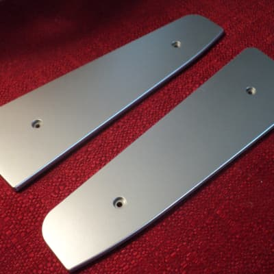 Korg Micro X  Orig End Cheeks (Silver Plastic)