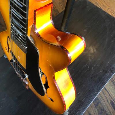 Handmade Danche Archtop Jazz Guitar 2018 Sunburst for sale