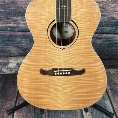 Used Fender FA-235E Concert Acoustic Electric Guitar with Gig Bag- Flamed Natural