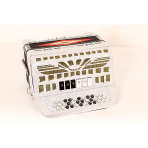 Sofiamari SMTT3412 Two Tone Diatonic Accordion - Sol/Fa