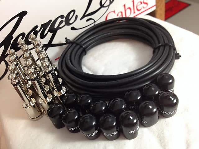 George L S 155 Pedalboard Effects Cable Kit Large 155