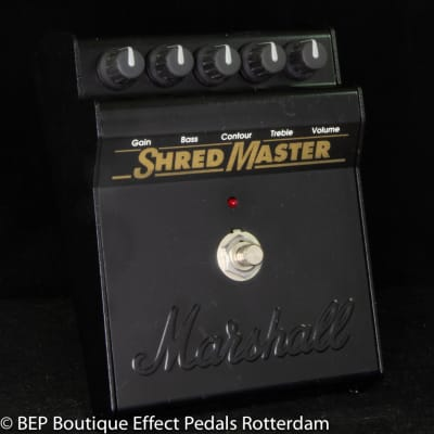 """Marshall Shred Master s/n S26191 made in England """" Creep Master """""""