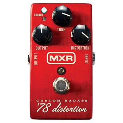MXR M-78 Custom Badass '78 Distortion Pedal