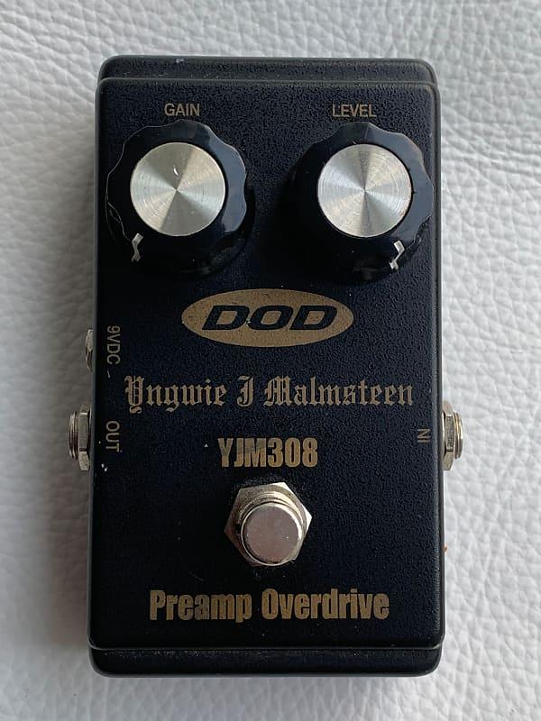 Dod Yjm308 Yngwie J  Malmsteen Preamp Overdrive