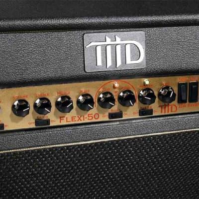 THD Flexi 50 Class-A/B 50-Watt Combo Cab Guitar Amplifier 2000s Black Tolex for sale