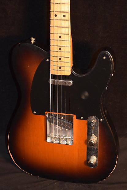 Fender Road Worn 50s Telecaster 2 Color Sunburst