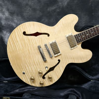 2012 Gibson ES-335 Dot  - Natural - Flame Top for sale