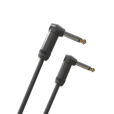 D'Addario PW-AMSGRR-20 20ft American Stage Right Angle to Right Angle Instrument Cable