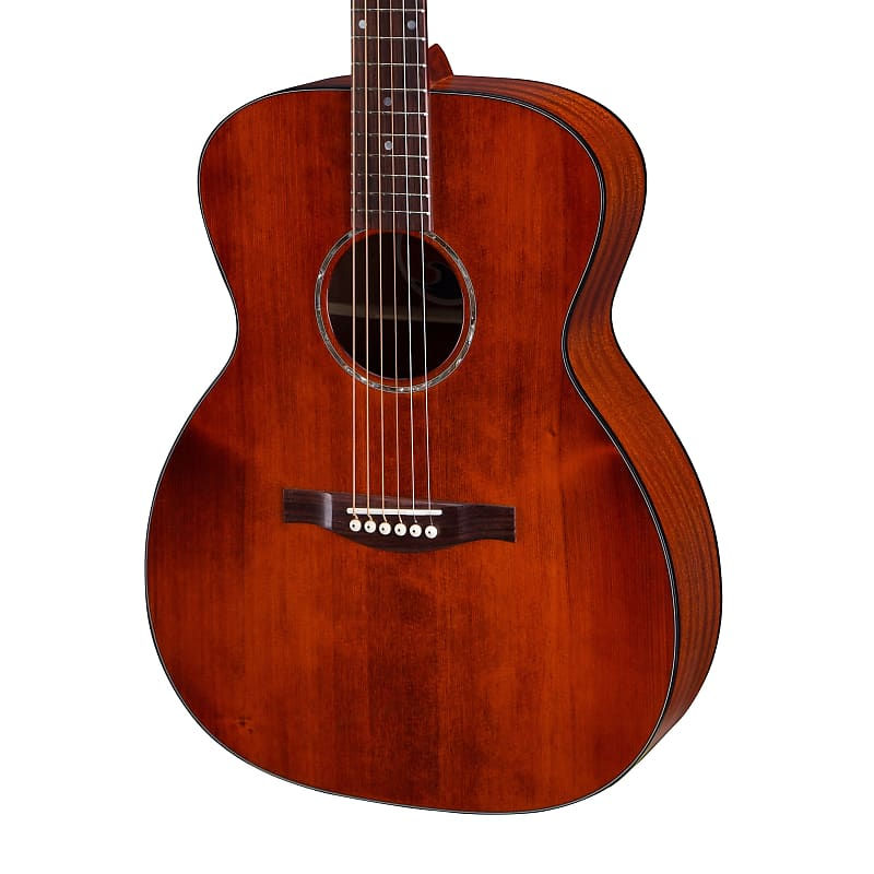 Eastman PCH1-OM-CLA Solid Top Orchestra Model Acoustic Guitar Classic Stain