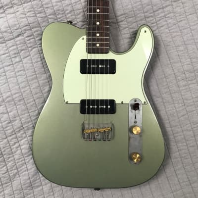 Creston Custom telecaster style 2009 Galaxie Green for sale