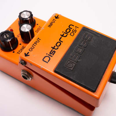 Boss DS-1 Distortion (Black Label) 1984 Orange for sale
