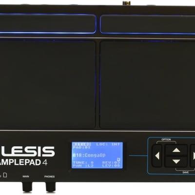 Alesis SamplePad 4 Compact 4-Pad Percussion and Sample-Triggering Instrument