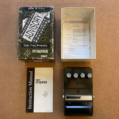 DOD Punkifier Distortion FX76 Lamb Series (Made in USA)