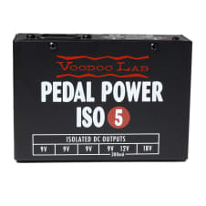 Voodoo Labs Pedal Power ISO-5 Power Supply