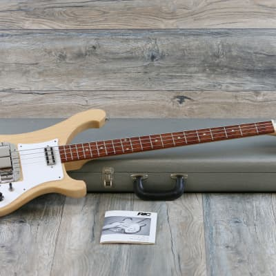 MINTY and Rare! Rickenbacker 4001C63 Reissue  2000s Mapleglo + OHSC for sale