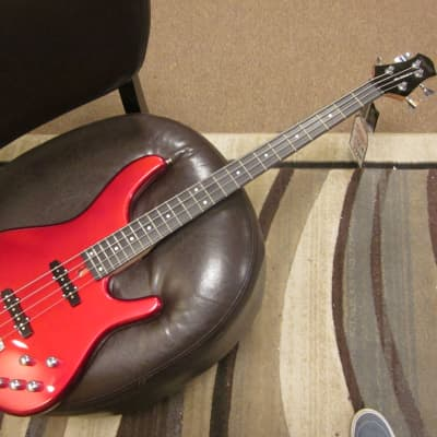 Tagima Millenium  4 electric bass 2020 red sparkle for sale
