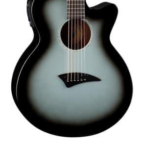 Dean AXcess Performer Acoustic/Electric Guitar, Mah, Silverburst, AX PE SVB for sale