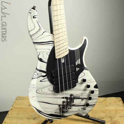 Dingwall NG3 4-String Ducati White Swirl B-Stock for sale