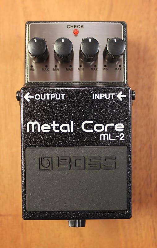 2018 boss ml 2 metal core distortion guitar effects pedal reverb. Black Bedroom Furniture Sets. Home Design Ideas