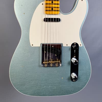 Fender Custom Shop Limited Edition Fat 50's Telecaster Custom Journeyman Relic Aged Fire Mist Silver