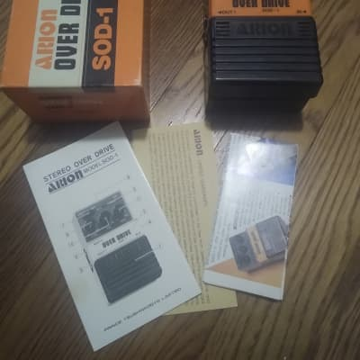Arion SOD-1 Stereo Overdrive w/ Original Box and More MIJ Japan Vintage for sale