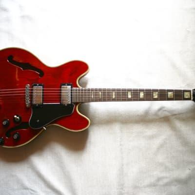 Gallan ES-335  1970's Transparent Cherry for sale