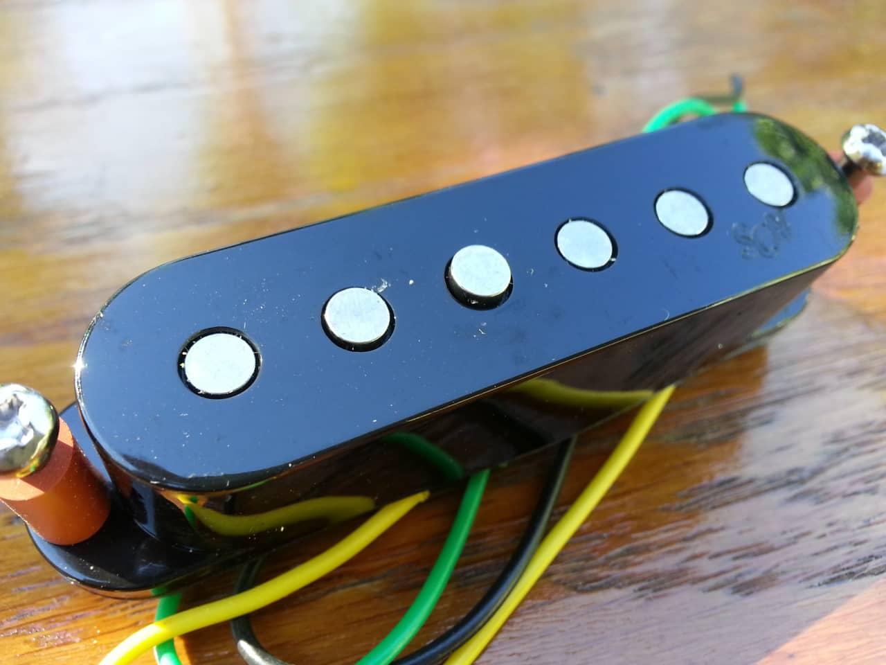 Fender SCN Samarium Cobalt Noiseless Middle Pickup | Reverb