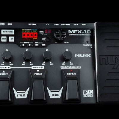 nuX MFX-10 Modeling Guitar Effects Processor