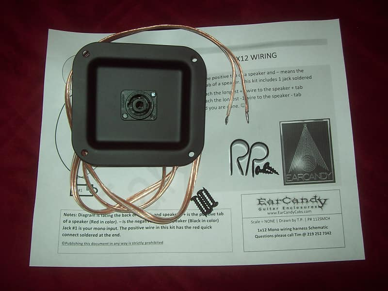 EarCandy 1x8 10 12 15 18 Bass guitar speaker cab Lichtenstein | Reverb